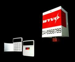 WYVO Siren Box & Burglar Alarm System Keypad